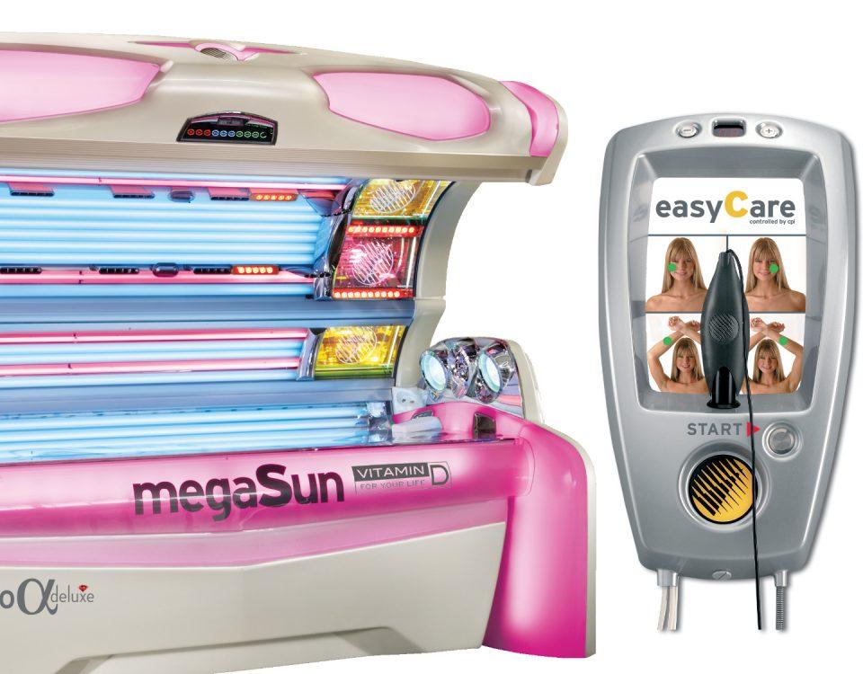 easyCare Haut-Analyse-Gerät für sicheres und schonendes Bräunen