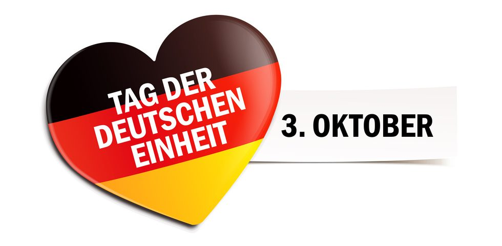 Vita Sun der derTag der deutschen Einheit