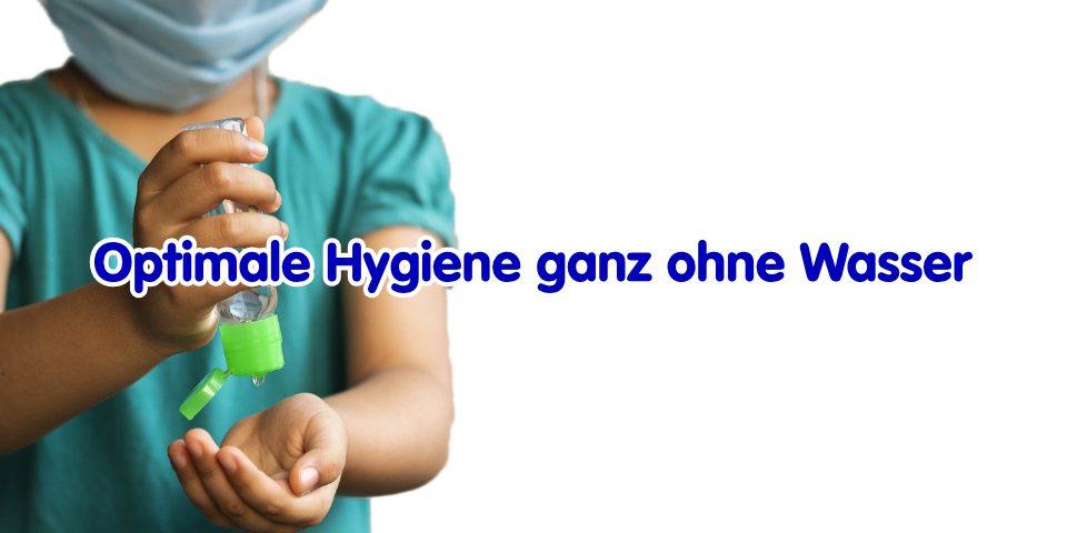 Handhygiene für unterwegs – ganz ohne Wasser